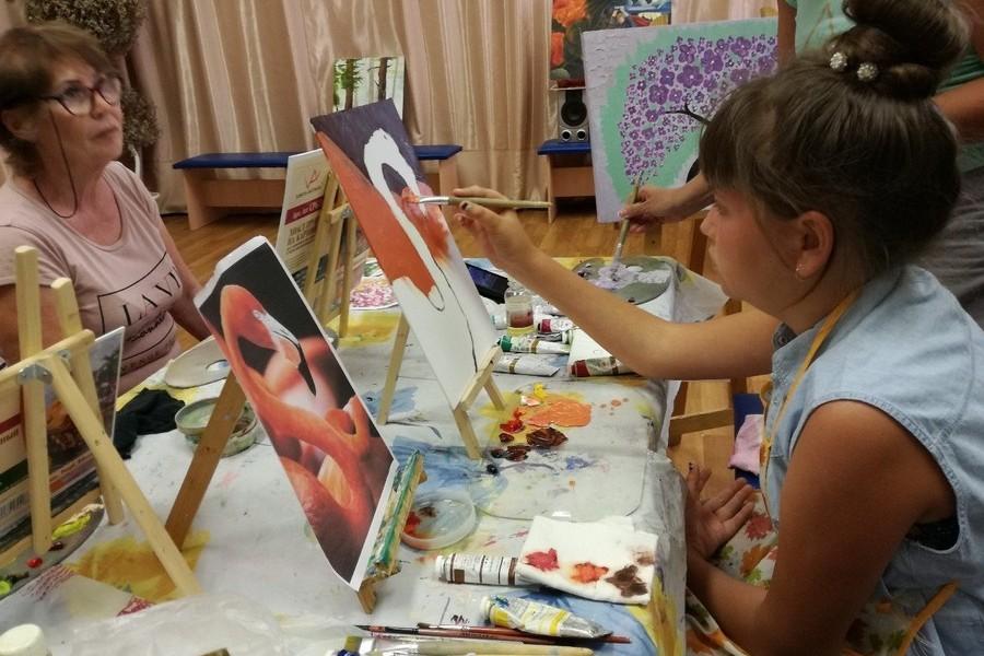 Мастер-класс по живописи маслом в августе