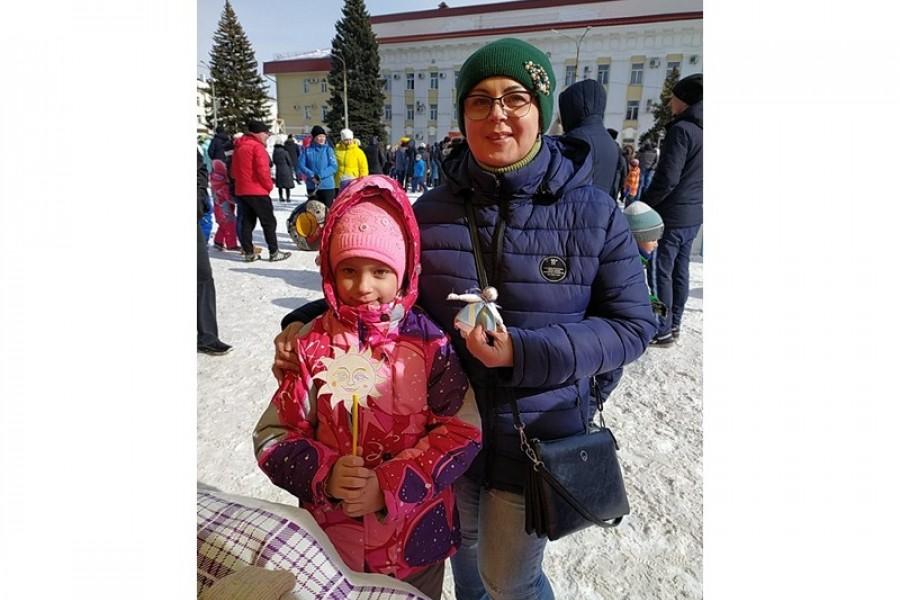 На площади мира проходили проводы зимы!