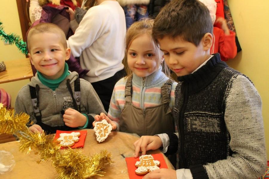 Фейерверк новогодних сладостей