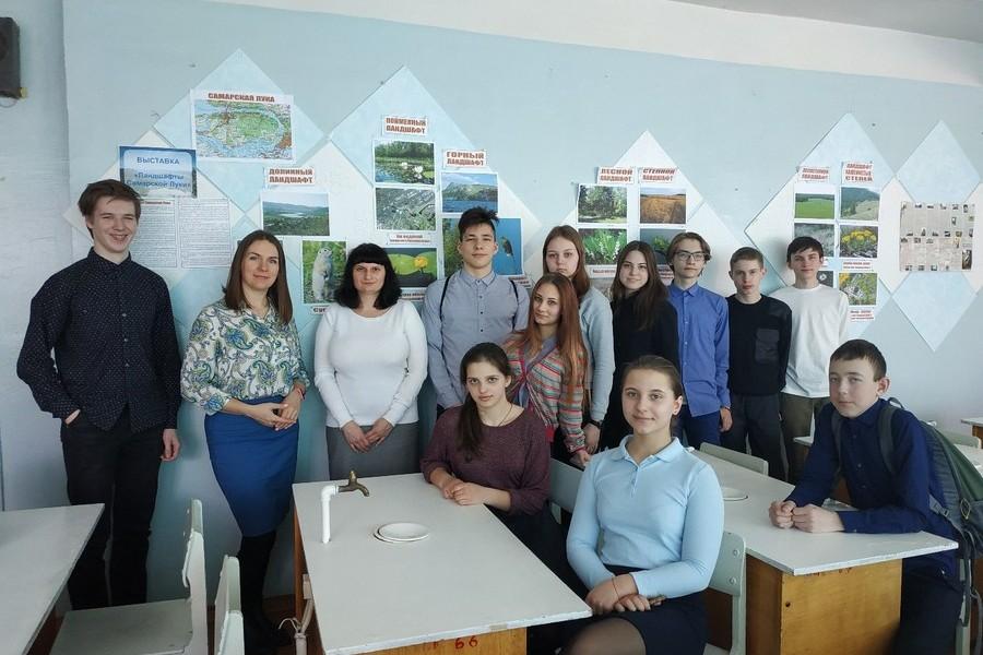 «Презентация музея в школе п. Приморский»