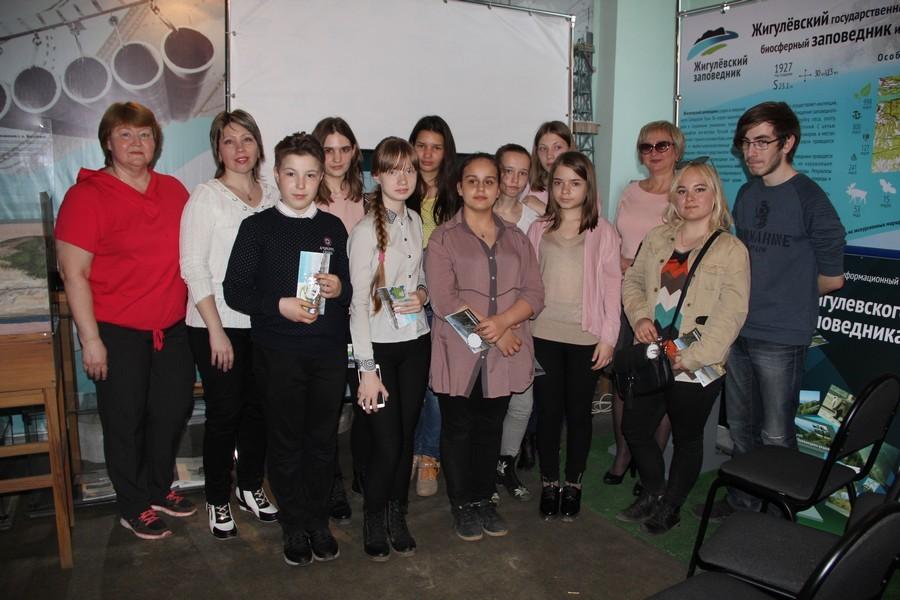Клуб юных добровольцев - экскурсоводов