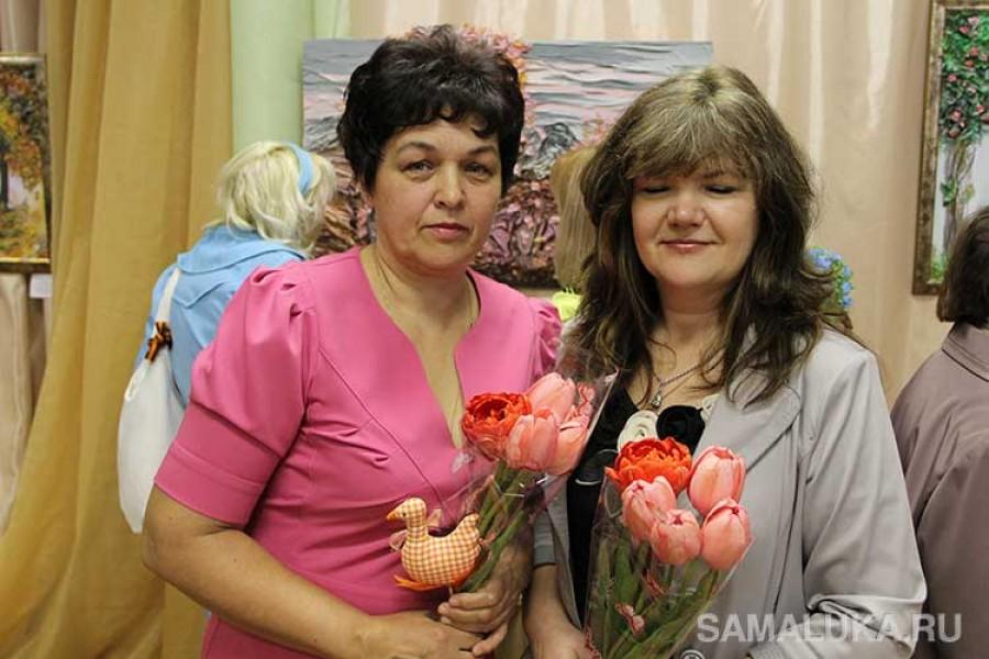 Персональные выставки Жанны Субботиной и Надежды Головановойа