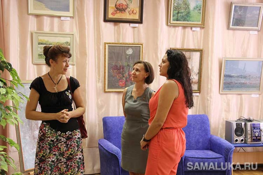 Персональная выставка Любавы Викторовой